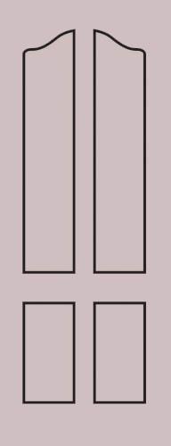 Образец фрезеровки металлической двери 26