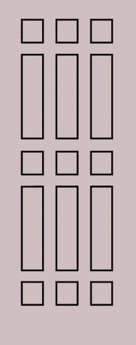 Образец фрезеровки металлической двери 28