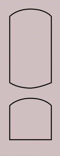 Образец фрезеровки металлической двери 29