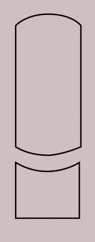 Образец фрезеровки металлической двери 30