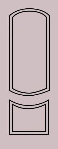 Образец фрезеровки металлической двери 31