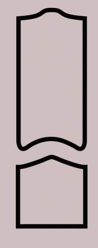 Образец фрезеровки металлической двери 35