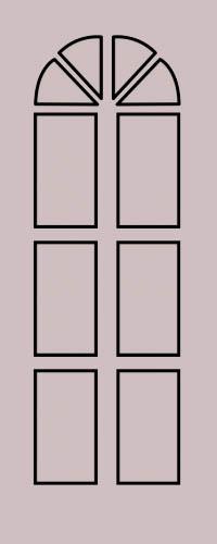 Образец фрезеровки металлической двери 38