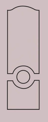 Образец фрезеровки металлической двери 39