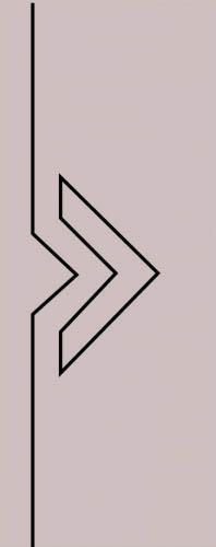 Образец фрезеровки металлической двери 46