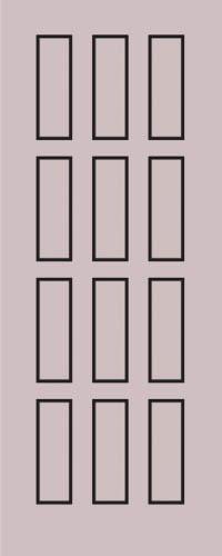 Образец фрезеровки металлической двери 54