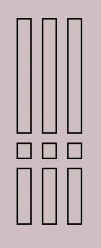 Образец фрезеровки металлической двери 55