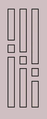 Образец фрезеровки металлической двери 56