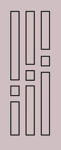 Образец фрезеровки металлической двери 57