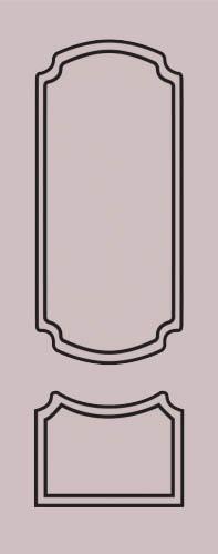 Образец фрезеровки металлической двери 59