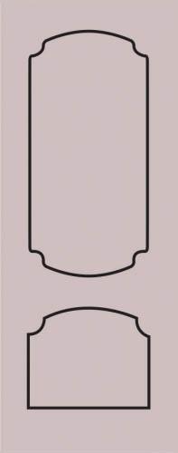 Образец фрезеровки металлической двери 60