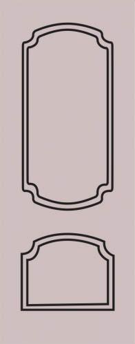 Образец фрезеровки металлической двери 61