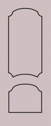 Образец фрезеровки металлической двери 62