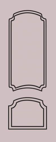 Образец фрезеровки металлической двери 63