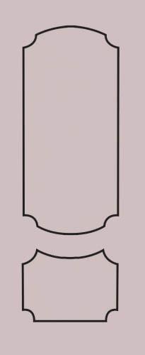 Образец фрезеровки металлической двери 64