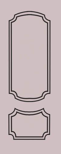 Образец фрезеровки металлической двери 65