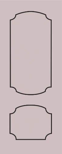 Образец фрезеровки металлической двери 66