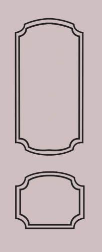 Образец фрезеровки металлической двери 67