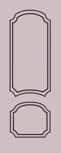 Образец фрезеровки металлической двери 69