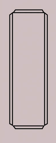 Образец фрезеровки металлической двери 76
