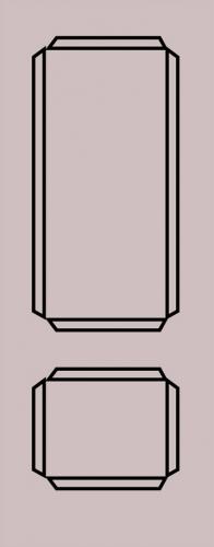 Образец фрезеровки металлической двери 77