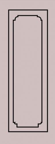 Образец фрезеровки металлической двери 78