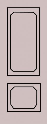Образец фрезеровки металлической двери 80
