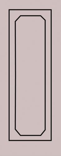 Образец фрезеровки металлической двери 81