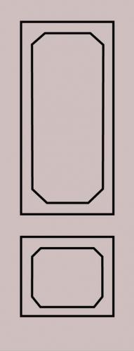 Образец фрезеровки металлической двери 82