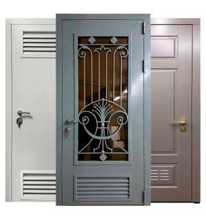 Двери в котельную