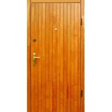Входная дверь с вагонкой с двух сторон ВД-ВГ-ВГ 16