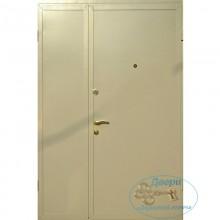 Двустворчатые двери ДД-П-М 14 Порошковое напыление –МДФ ПВХ