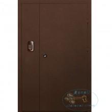 Двустворчатые металлические двери ДД-П-Л-22
