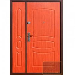 Двустворчатые входные двери ДД-П-МШ-28