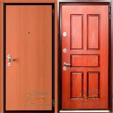 Железная дверь с ламинатом