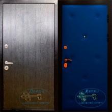 Двери входные металлические с темным ламинатом