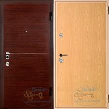 Дверь железная ламинат