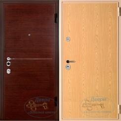 Железная дверь с ламинатом ЛМ-ЛА 11