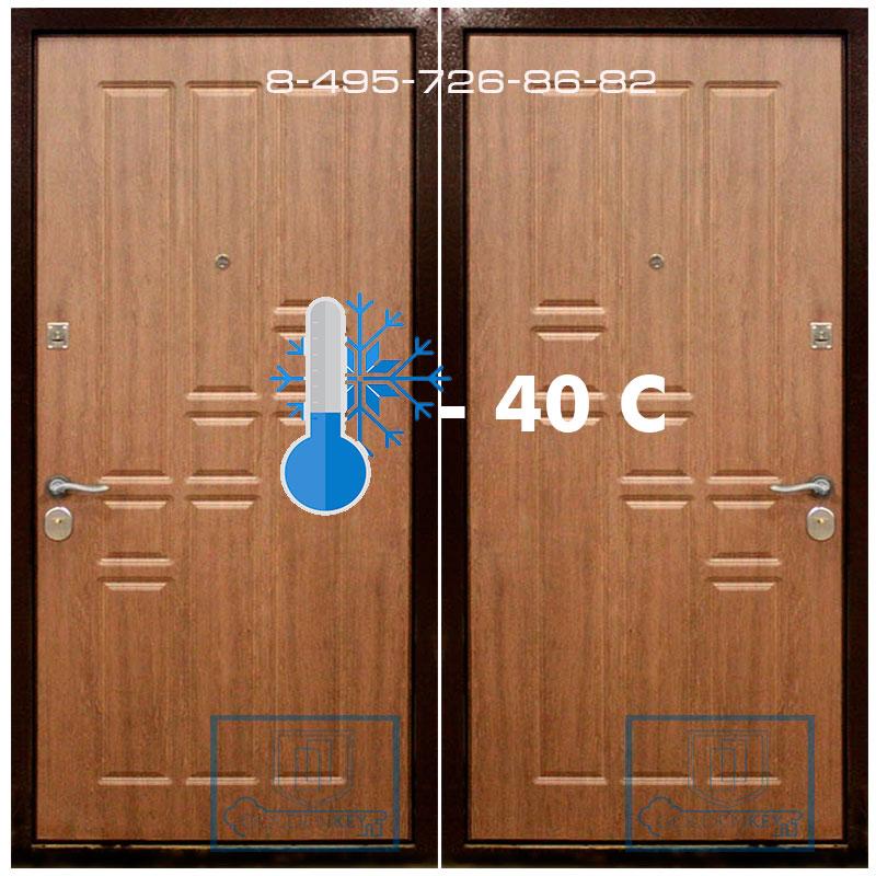 Как правильно утеплить входную металлическую дверь - советы компании
