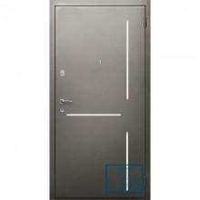 Дверь с рисунком на металле