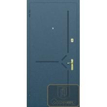 Железная дверь с рисунком