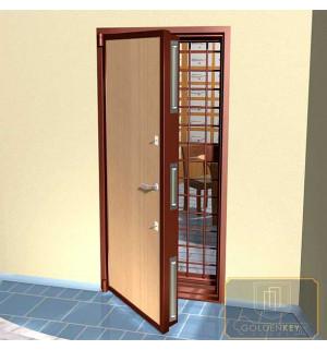Металлические двери в кассу