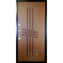 Дверь ДМ-М-ВР 66 МДФ ПВХ-винилискожа с рисунком с доставкой и установкой в Москве от производителя