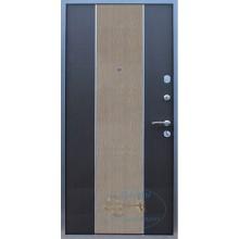 Дверь ДМ-МД-МФ 37 МДФ двухцветный-МДФ филенчатый с доставкой и установкой в Москве от производителя
