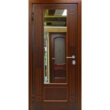 Дверь ДМ-М3-МШ 79 МДФ с зеркалом-МДФ шпон с доставкой и установкой в Москве от производителя