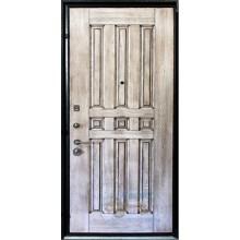 Дверь ДМ-МФ-МШ 92 МДФ филенчатый-МДФ шпон с доставкой и установкой в Москве от производителя