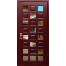 Дверь ДМ-МЗ-Д 97 МДФ с зеркалом-натуральный массив дуба с доставкой и установкой в Москве от производителя