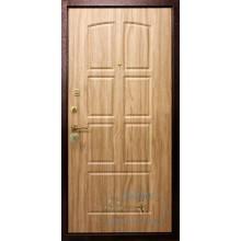 Дверь ДМ-МШ-ЛА 19 МДФ шпон-ламинат антивандальный доставкой и установкой в Москве от производителя