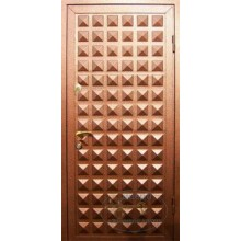 Двери для дачи ДД-ПР-Л 39 Порошковое напыление