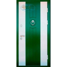 Дверь ДМ-МД-М 37 МДФ двухцветный-МДФ с доставкой и установкой в Москве от производителя
